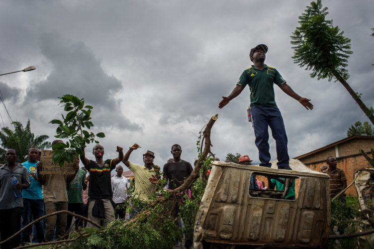 Anti-government protests in Burundi