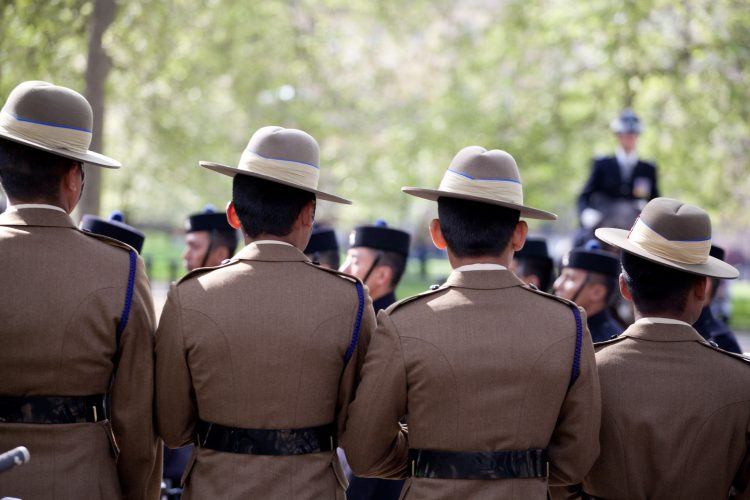 Gurkhas Celebrate 200 years of service to the United Kingdom