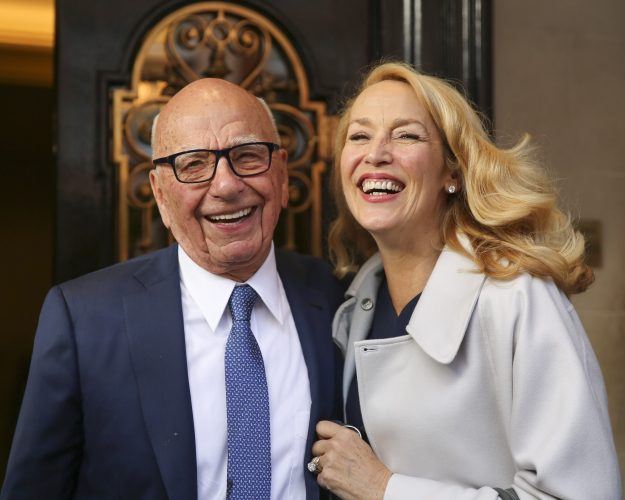 Rupert Murdoch and Jerry Hall get married