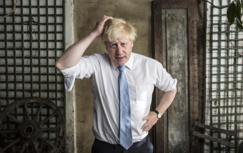 A portrait of Boris, 2015