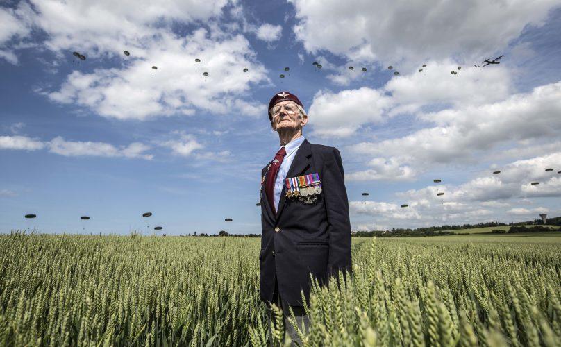 D-day veteran. France 2014