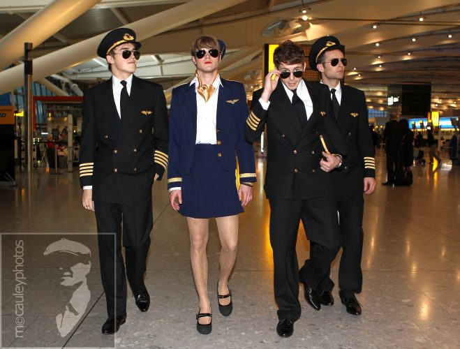 McFly at Heathrow
