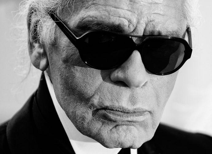 Portrait -  Karl Lagerfeld