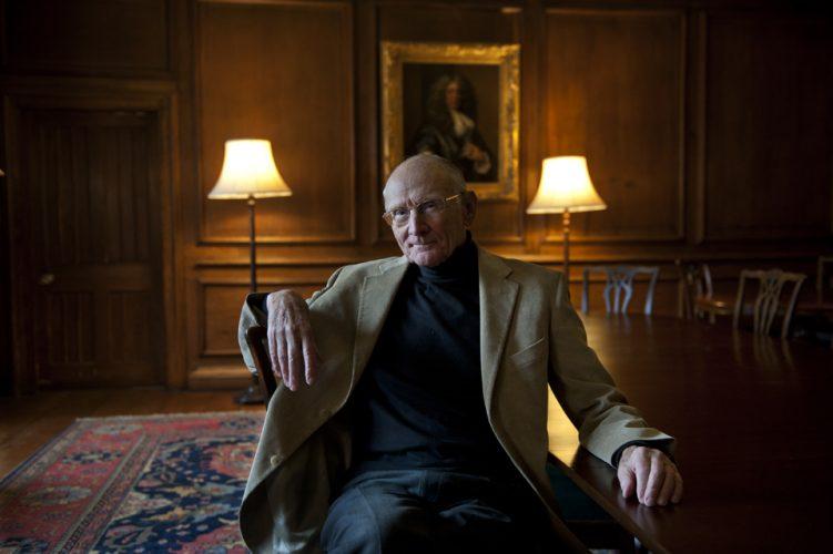 John Carey, literary critic, and emeritus Merton Professor of En