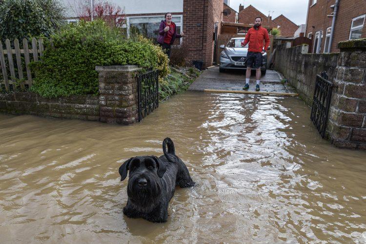 DEVASTATING FLOODING IN HEREFORD DUE TO STORM DENNIS