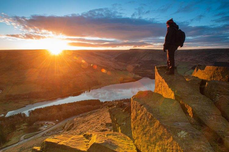 Sunrise over Dovestone Reservoir