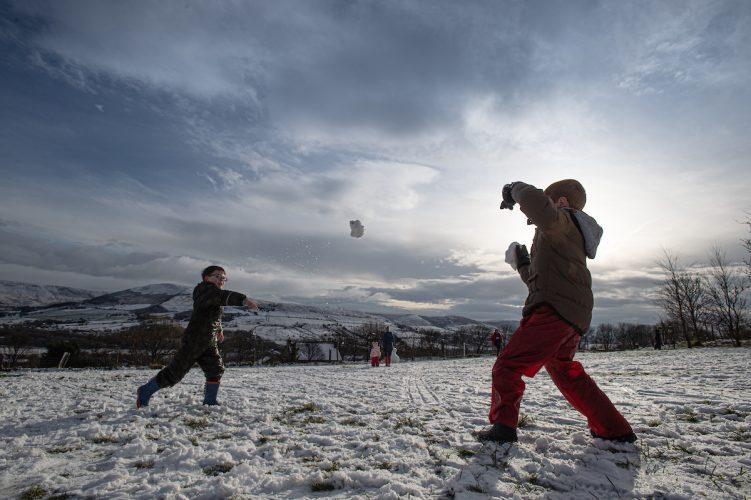 Winter fun in Saddleworth