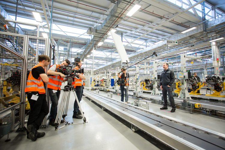 JLR Every Engine shoot, Jaguar Land Rover Factory, Wolverhampton