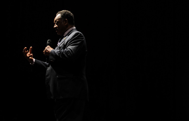 Jesse Jackson at the Library of Birmingham