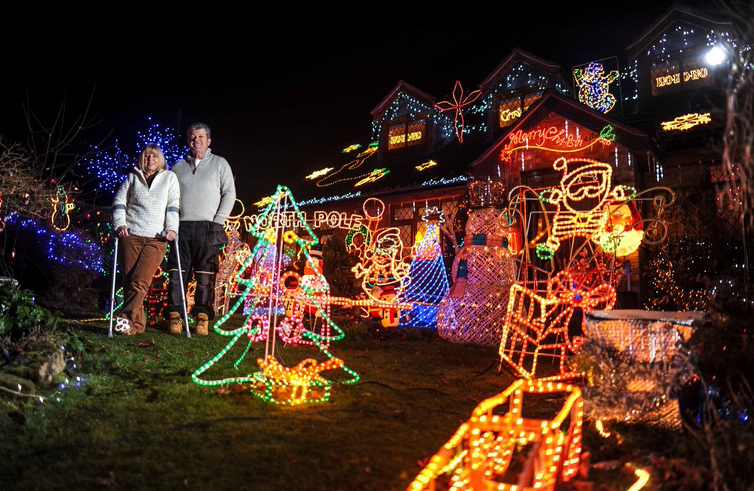 Biggest collection of Christmas Lights