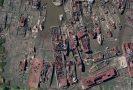 Arthur Kill Boat Graveyard, Staten Island, NY.