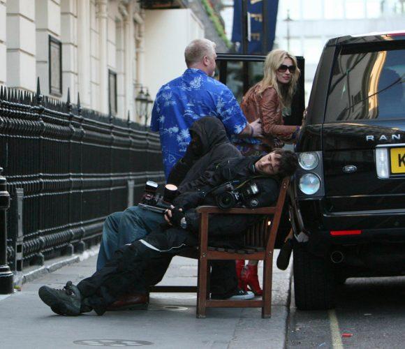 Kate Moss, London.
