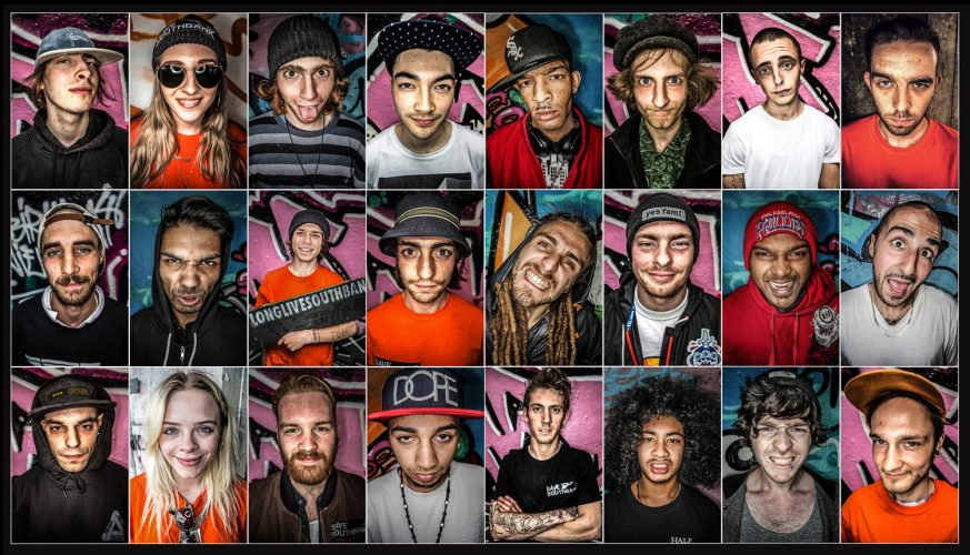 Skaters fight to save their space. Portraits taken of London based skaters whose home at South Bank's Undercroft has come under threat to relocate.