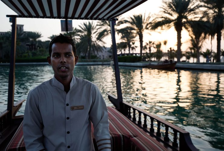 The Boat Man, The Madinat, Dubai