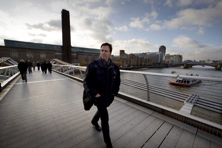 Anthony Horowitz at the Tate Modern BY BRIAN HARRIS © 2008