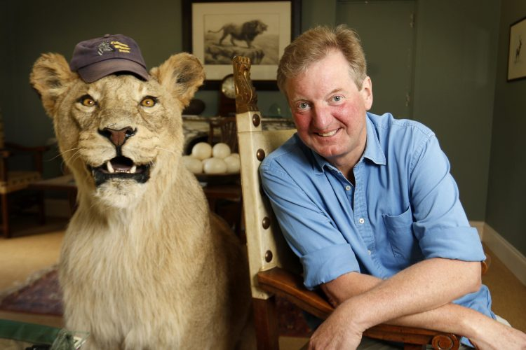 Reggie Heyworth, of the Cotswold Wildlife Park, Burford.