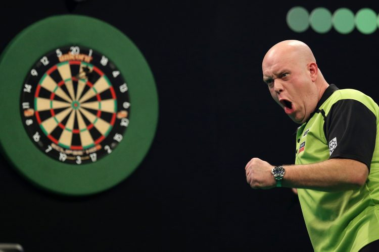 Unibet Premier League of Darts    Cardiff  UK