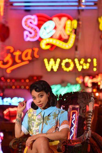 UK Reggae star Hollie Cook.