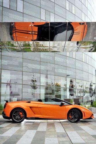 The new Lamborghini Gallardo LP 570-4 Performante.