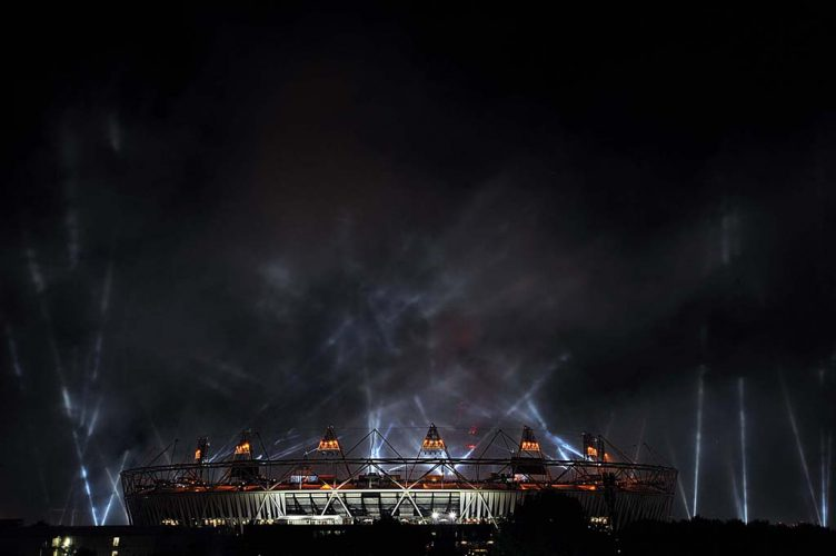 London 2012 Olympics Opening Ceremony.