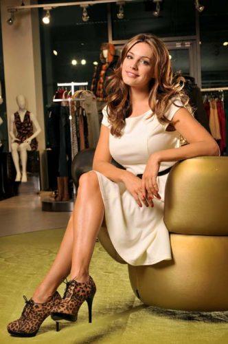 Model & Actress Kelly Brook