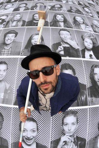 Urban artist JR.