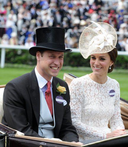 Duke and Duchess of Cambridge  at  Royal Ascot Day 2