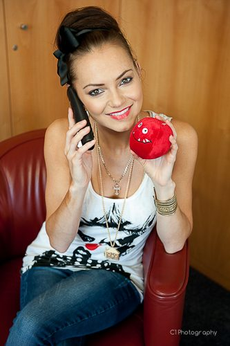 Kara Tointon, for Comic Relief