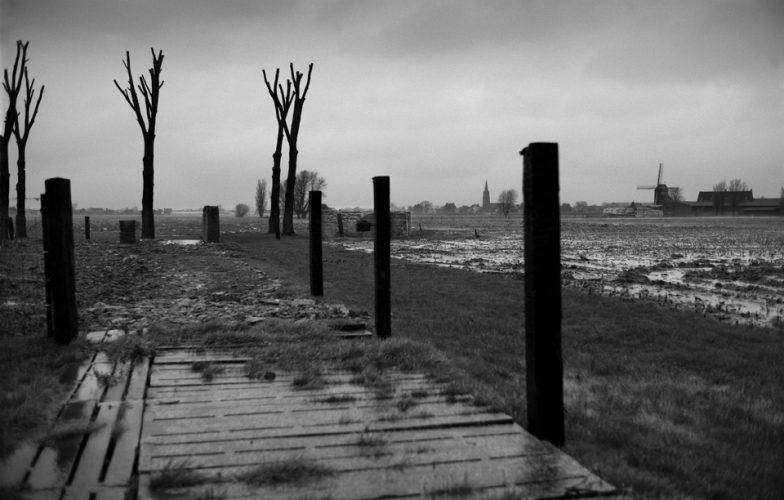 Ypres Salient WWI Battlefield, Belgium. March 2014