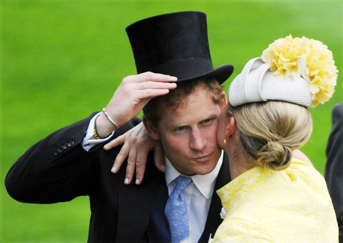 Prince Harry and Zara Phillips at Royal Ascot 2015 Day 1