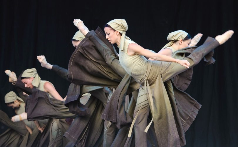 The English National Ballet at Glastonbury