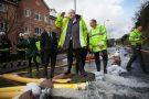 Boris johnson visits Kenley water treatment centre