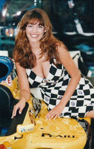 Grid Girl Kelly Brook At British Grand Prix 9803