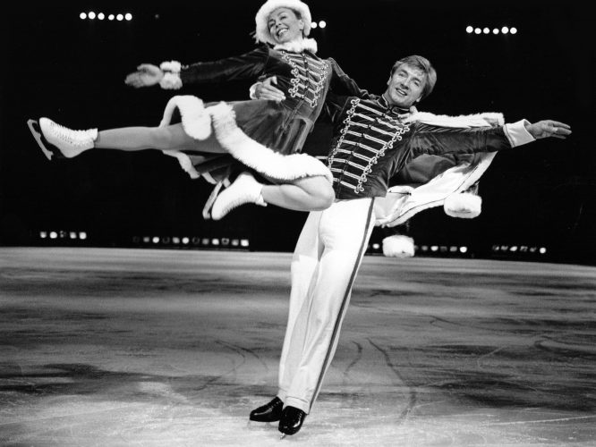 Torvill & Dean Reherse At Wembley Arena 9913