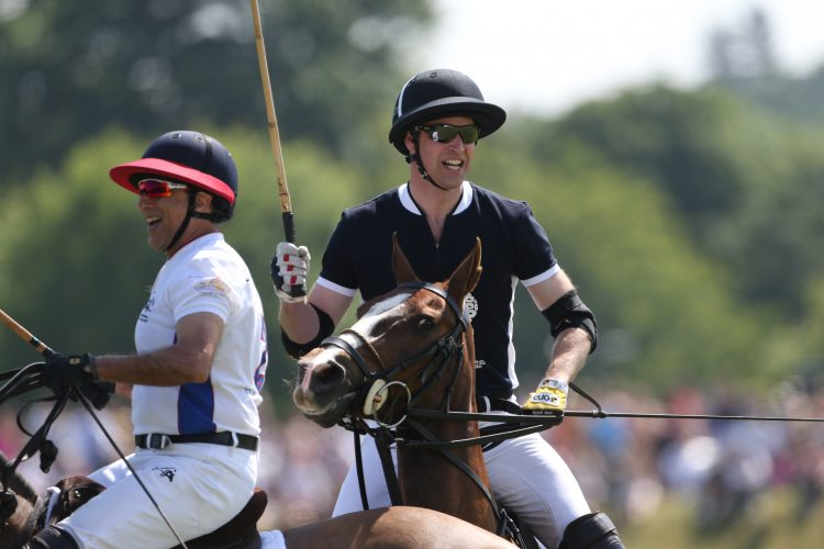 Duke of Cambridge Plays in Maserati Royal Charity Polo Trophy 182169