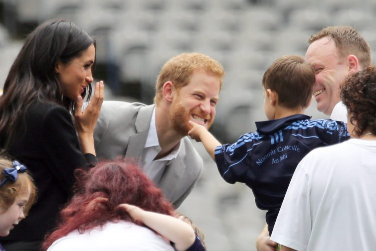The Duke And Duchess of Sussex At Croke Park 182529