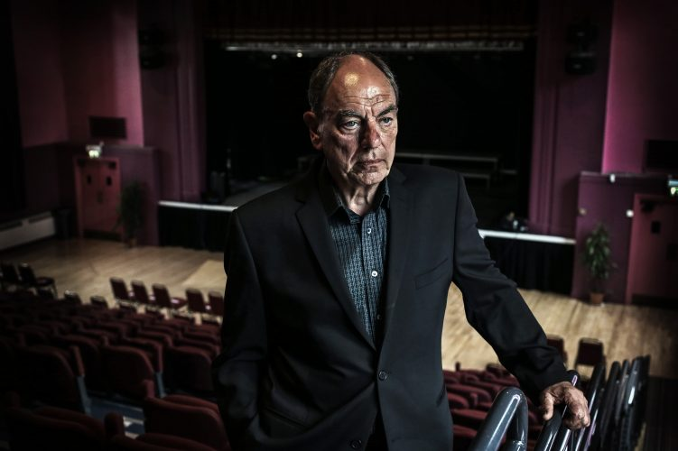 Actor Alun Armstrong at Stanley Civic Theatre.