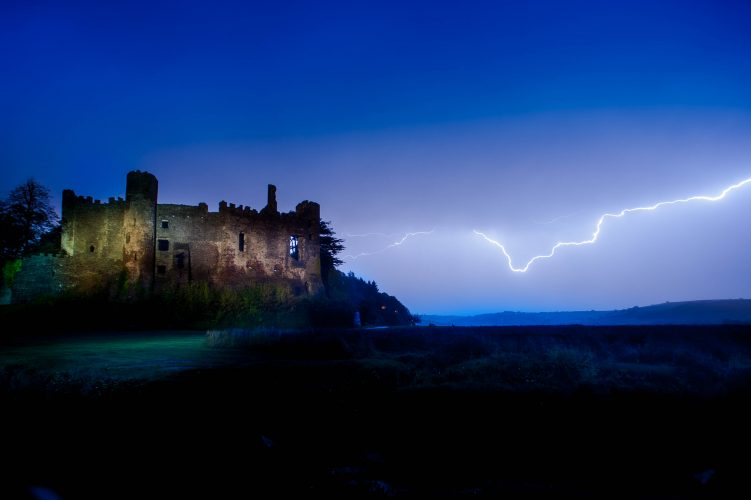 Lightning Storms over West Wales