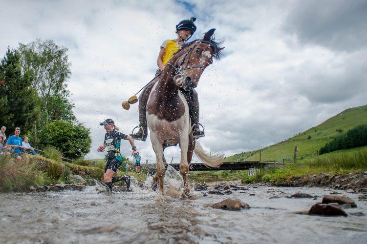 Man v Horse Marathon takes place at Llanwrtyd Wells, Powys