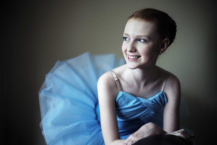 Ballet dancer Kate Weston.