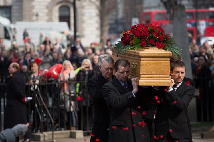 Tony Benn Funeral at St Margaret's Church