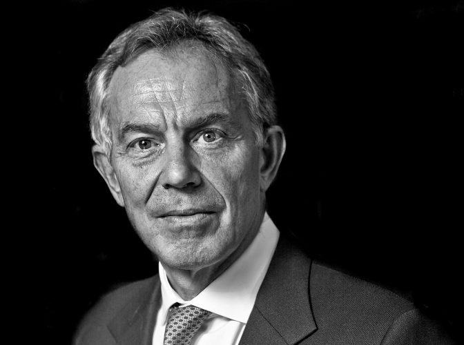 Prime Minister Tony Blair.