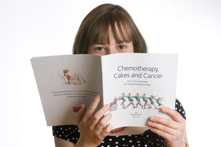 14 year old who is now in full remission after successfully being treated for a major bone cancer. She has written a booklet for teachers and the education world about dealing with cancer in children with the help of her Mother