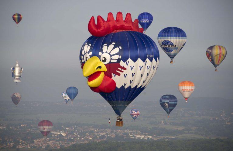Bristol International Balloon Fiesta 2014.