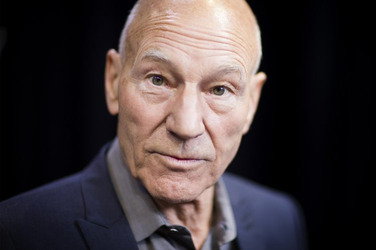 Sir Patrick Stewart at Huddersfield University