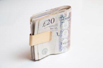 Cash, £20 notes