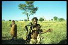 Bushmen of the Kalahari Desert before the Botswana  Government kick them off the land 1994