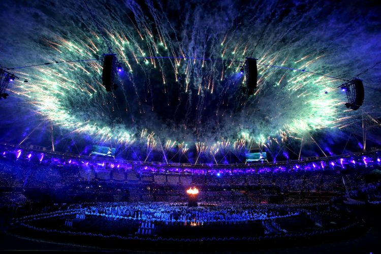The Opening Ceremony at the London 2012 Olympic Games