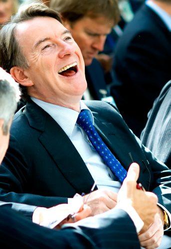 Peter Mandelson, London