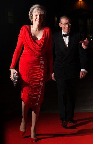 PM Theresa May and Philip May at the Sun Military Awards 2016, (MILLIES)